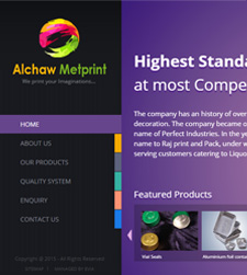 Alchawmetprint - Website Redesign Services